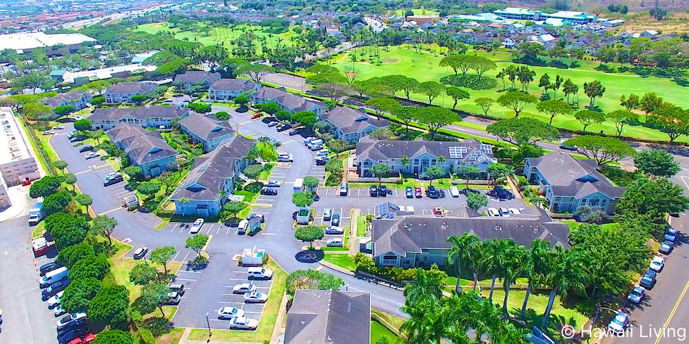 Waikele Townhomes - Aerial Photo