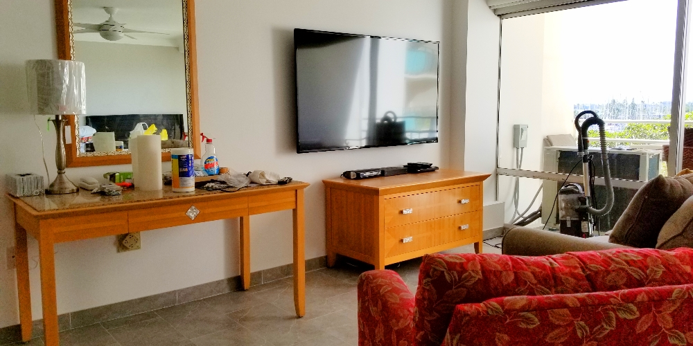 "New 65"" 4K smart TV"