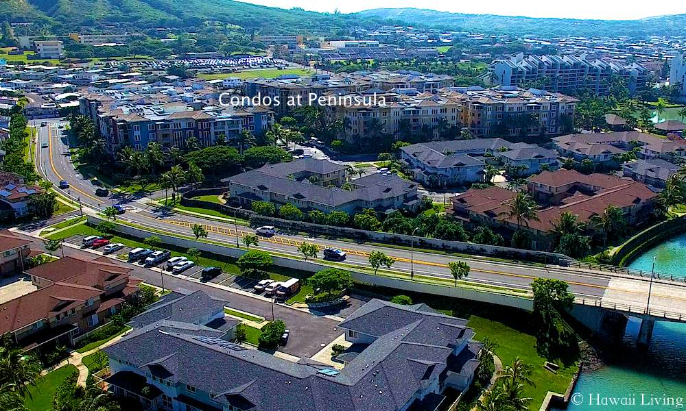 Colony at the Peninsula - Aerial Photo