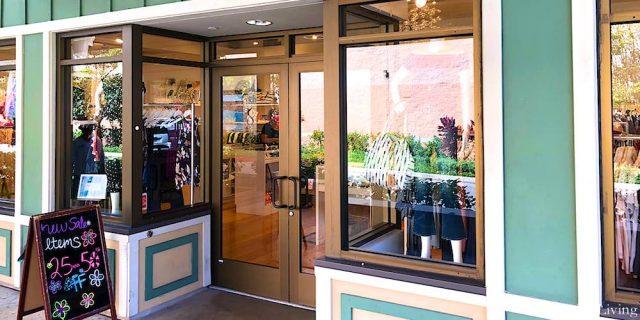 Entrance to Fashion Shop in Kailua