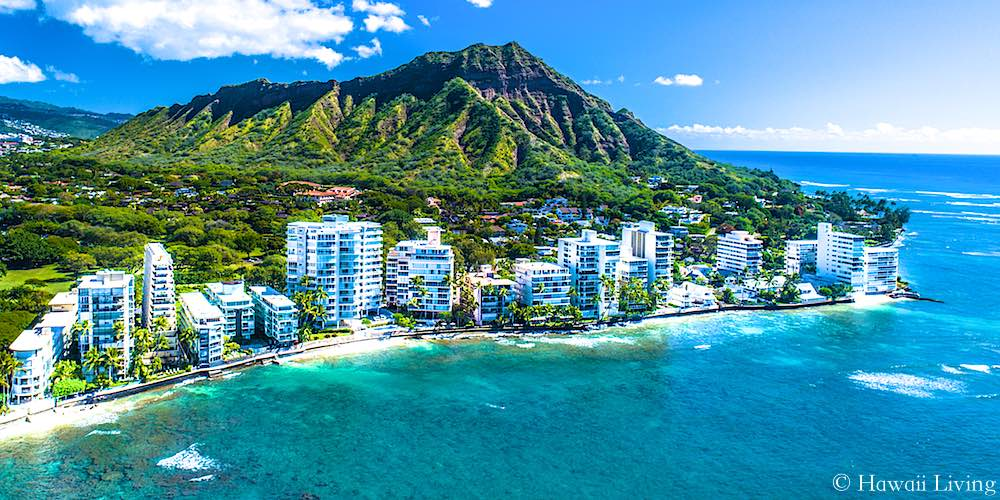 Diamond Head's Gold Coast Drone Photo