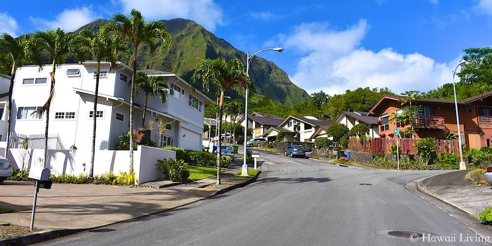Kika Street in Kailua