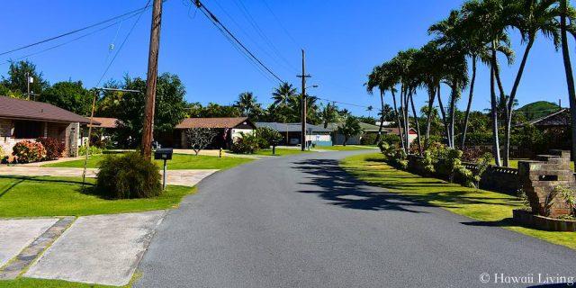 Kuumele Place in Kailua