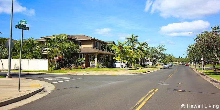Hoomahana Street in Ewa Beach