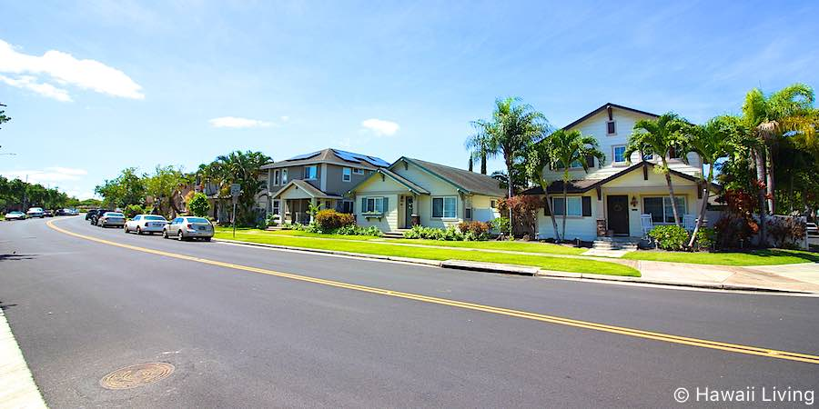 Kaileonui Street in Ewa Beach