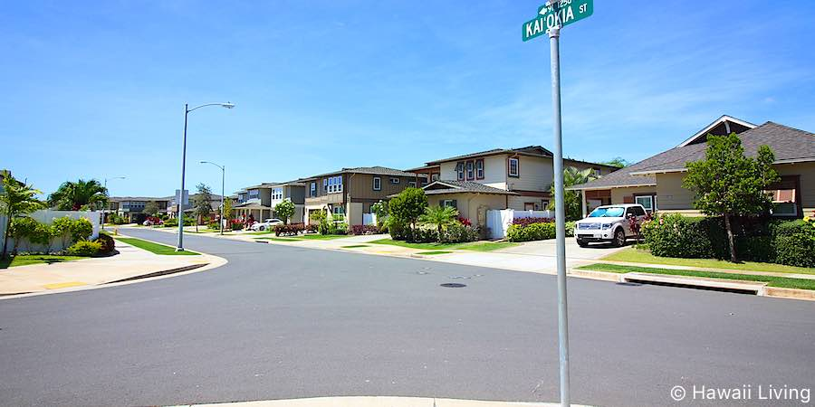 Kaiokia Street in Ewa Beach