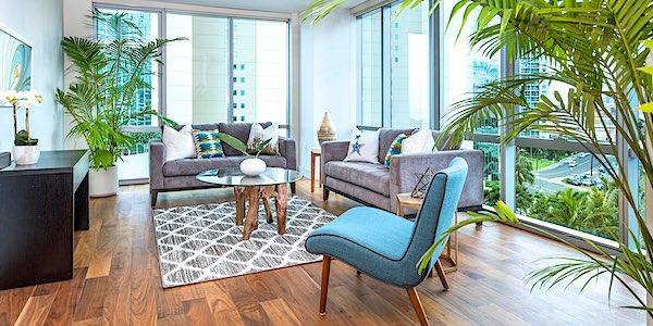 Waihonua #809 Living Room With Furniture