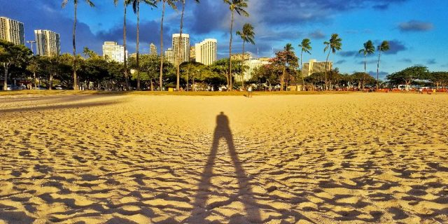 Ala Moana Beach - Shadow