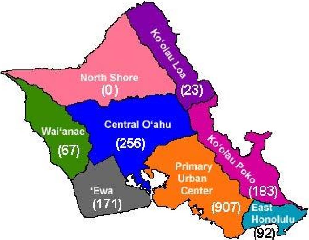 DPP Map - B&B Limits Per Neighborhood District