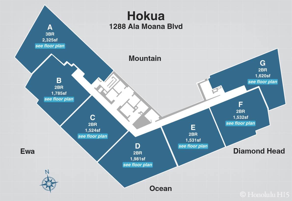 hokua floor plans standard floor plate jpg