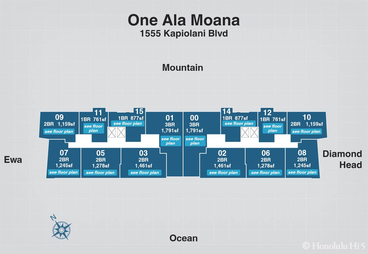 One Ala Moana Condos For Sale A Luxury Condo Project