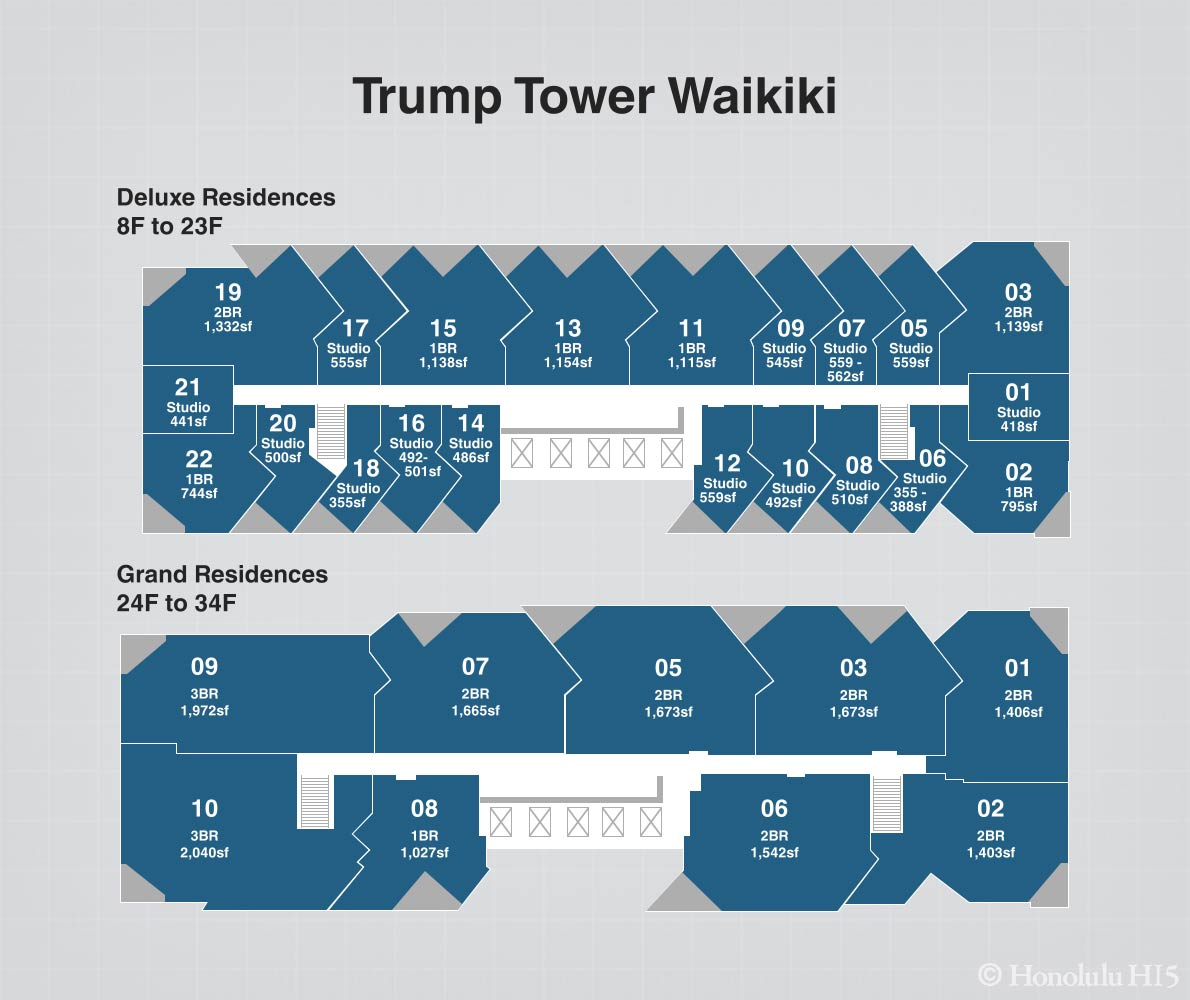 Trump Tower Waikiki Condos For Sale Luxury Condo Hotel